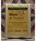 The Warm Company Warm & Natural Cotton Needled Batting 45\u0027\u0027x60\u0027\u0027