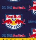 New York Red Bulls Fleece Fabric 58\u0022-Logo