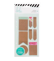 Heidi Swapp Memory Planner 8 Pack 4''x7.2'' Notepads-Kraft, , hi-res