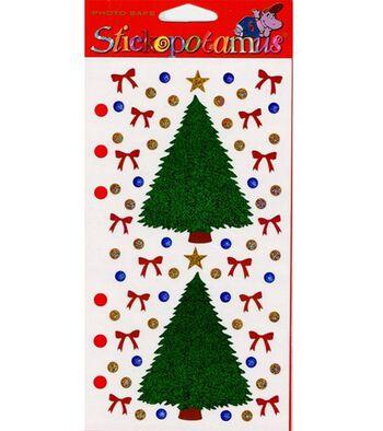 Stickopotamus Stickers -Christmas Tree