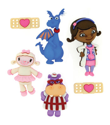 Dress It Up Licensed Embellishments- Disney® Doc McStuffins