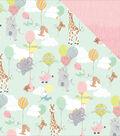 About A Little Girl Double-Sided Cardstock 12\u0022X12\u0022-Bundle Of Joy