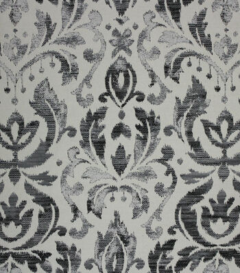 "Richloom Studio Print Fabric 56""-Webster/Ebony"