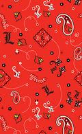 University of Louisville Cardinals Cotton Fabric 43\u0022-Bandana