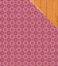Bombay Sunset Double-Sided Cardstock 12\u0022X12\u0022-Bollywood