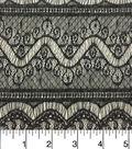 Nicole Miller Sweater Knit Fabric 57\u0022-Black and Ivory