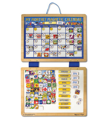 Melissa & Doug® My Monthly Magnetic Calendar