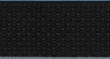 "Polyester Webbing 1"" Wide 15 Yards-Black"