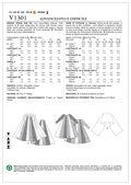 Mccall Pattern V1301 Zz (Lrg-Xl-Vogue Pattern