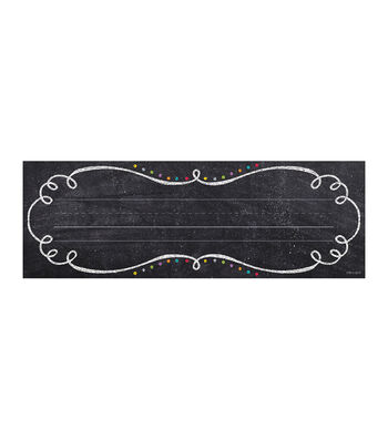 Chalk It Up! Swirls & Twirls Name Plates