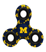University of Michigan Wolverines Diztracto Spinnerz-Three Way Fidget, , hi-res