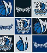 "Dallas Mavericks Fleece Fabric 58""-Block, , hi-res"