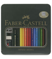 Faber-Castell® Polychromos Colored Pencil Set-Mixed Media, , hi-res