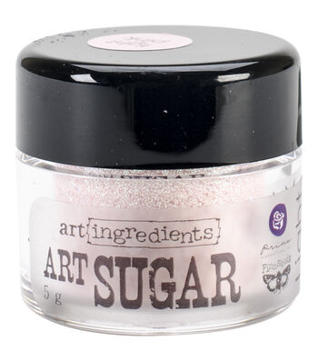 Art Ingredients Art Sugar Ultra Fine Glitter .21oz-Light Pink