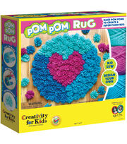 Creativity For Kids Make Your Own Pom Pom Rug Kit, , hi-res