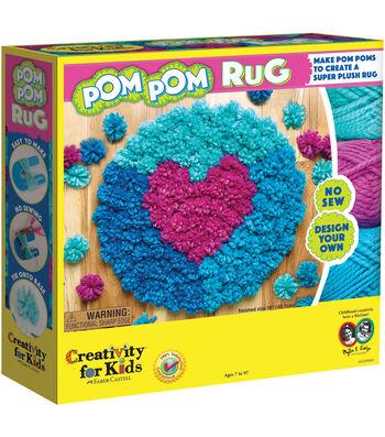 Creativity for Kids® Make Your Own Pom Pom Rug Maker Kit