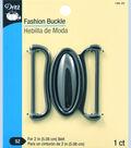 Dritz Fashion Buckle Gunmetal  2\u0022