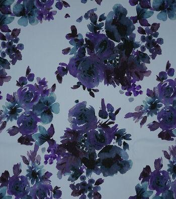 Sportswear 7 oz. Denim Fabric 57''-Watercolor Florals