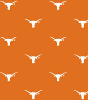 "University of Texas Longhorns Cotton Fabric 44""-Logo, , hi-res"