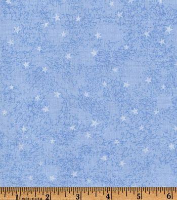"Keepsake Calico™ Cotton Fabric 45""-Blue Star"