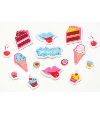 Foamies Printed Stickers Sweet Treats