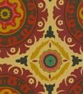 Home Decor 8\u0022x8\u0022 Fabric Swatch-Waverly Solar Flair Henna