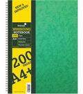 Silvine 200-sheet A4+ Wirebound Notebook
