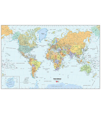 WallPops World Map