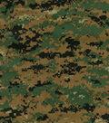 Digital Woodland Shirting Fabric 60\u0022-Camouflage