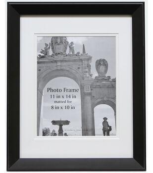 bp industries portrait photo frame 11x14 black - White Frames