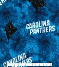 Carolina Panthers Fleece Fabric 58\u0027\u0027-Tie Dye