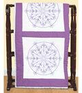 Stamped White Quilt Blocks 18\u0022X18\u0022 6 Pack-Simple Mandala