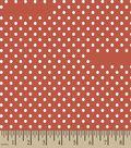 Red Dot Print Fabric