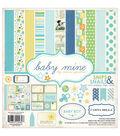 Carta Bella Collection Kit 12\u0022X12\u0022-Baby Mine/Boy