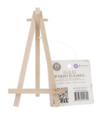 Prima Marketing Relic & Artifacts Wooden Easel 3.6''x6''