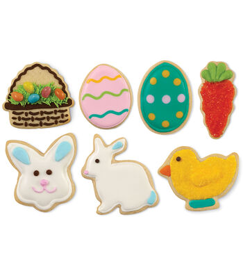 Wilton® Easter 7 pc Shapes Cookie Cutters