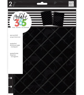 Create 365 Happy Planner Classic Snap-In Hard Cover Planner-Black