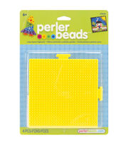 Perler Pegboards 2/Pkg-Large Square Yellow, , hi-res