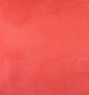 "Glitterbug Chiffon Fabric 45""-Solid Red"