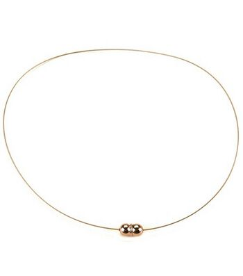 """Darice Jewelry Designer 18"""" Necklace w/Magnetic Clasp-1PK/Gold"""