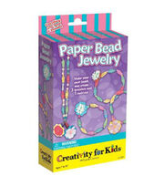Creativity for Kids® Paper Bead Jewelry Kit, , hi-res