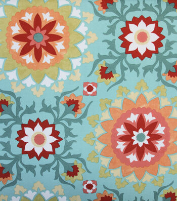 """Solarium Outdoor Fabric 54""""-Cynfael Sea"""