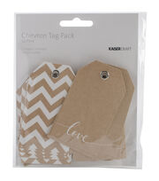 "Mix & Match Tag Pack 2""X3.25"" 12/Pkg-Chevron, , hi-res"
