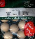 Wood Shapes Balls