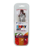 Loew-Cornell Simply Art Paintbrush & Palette Pack, , hi-res