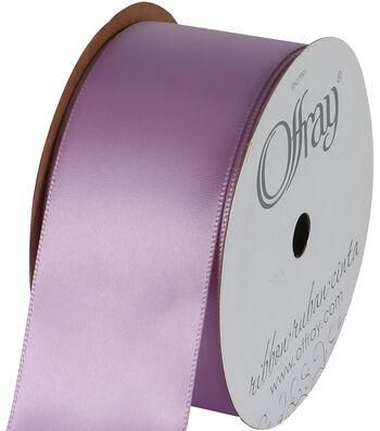 Offray Single Face Satin Ribbon 1-1/2''-12 Feet