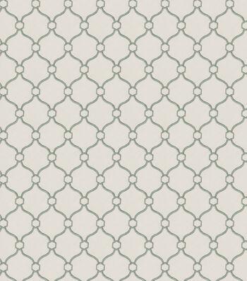 "Eaton Square Print Fabric 53""-Text Book/Spa"