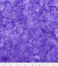 Keepsake Calico™ Fabric 44\u0027\u0027-Purple Sundrenched Butterfly & Flower