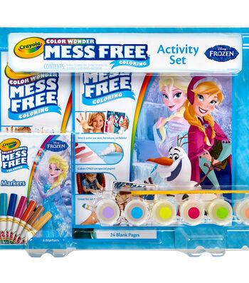 Crayola Color Wonder Activity Set-Frozen