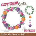 CottageCutz Die Spring Vine Wreath